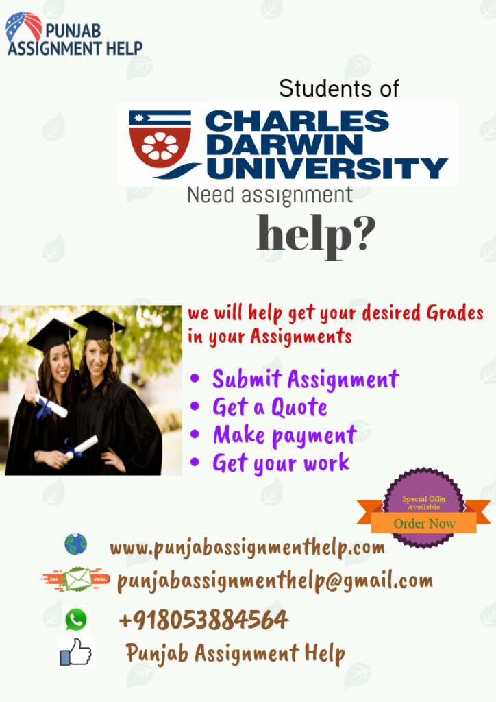 Charles Darwin University Assignments