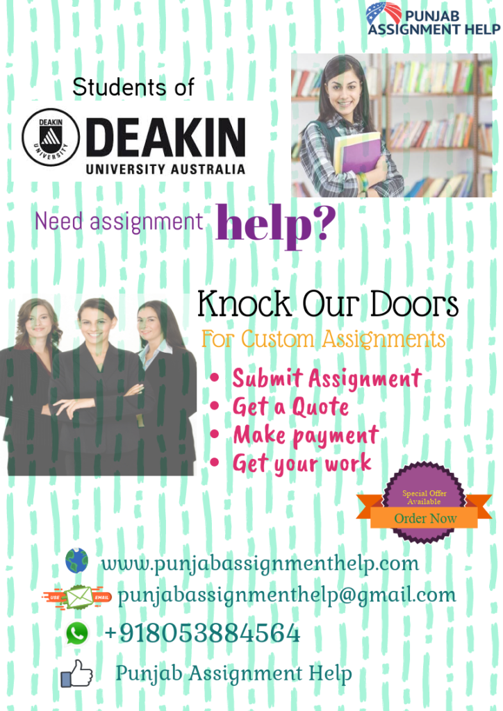 Deakin Assignment help