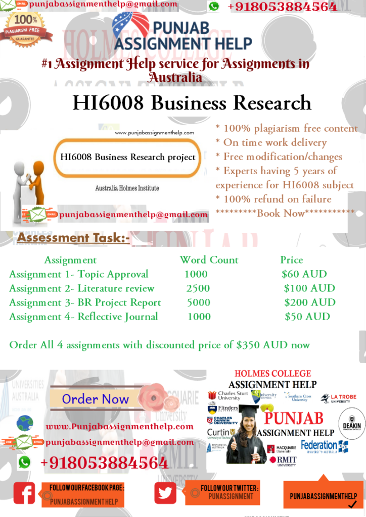 HI6008 Business research project