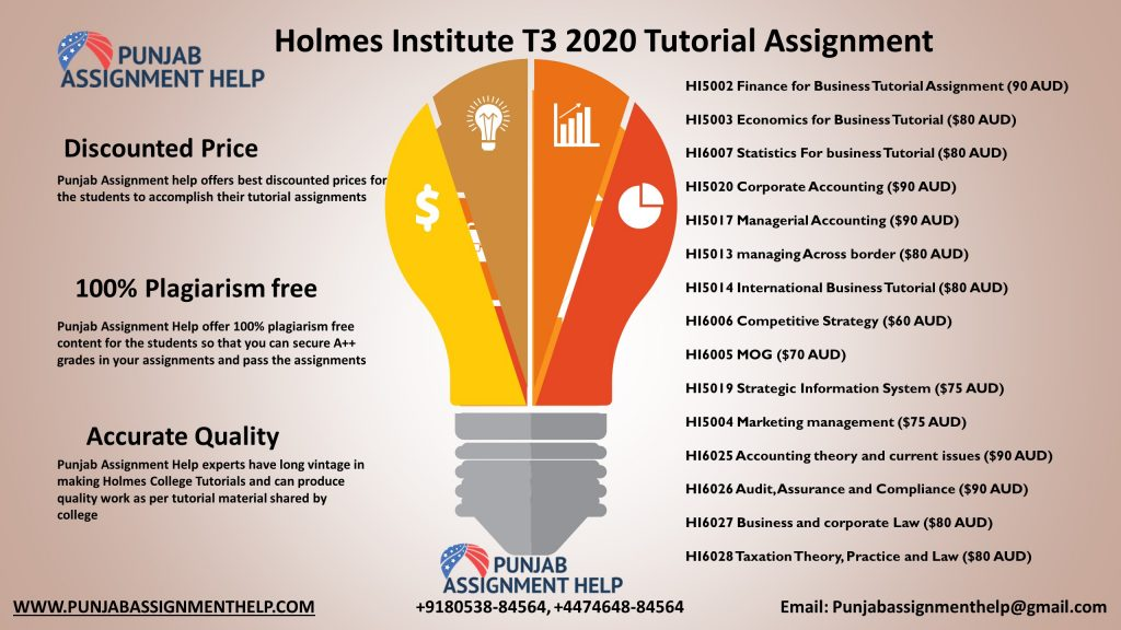 Holmes Tutorial Assignment help